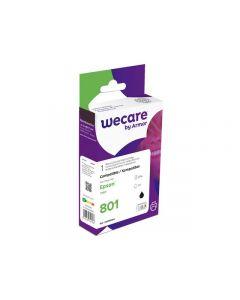 Bläckpatron WECARE EPSON T0801 Svart