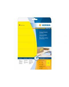 Etikett HERMA Färg gul 105x42,3mm 280/FP