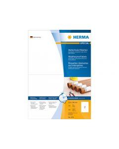 Etikett HERMA Stark 210x148mm 200/FP