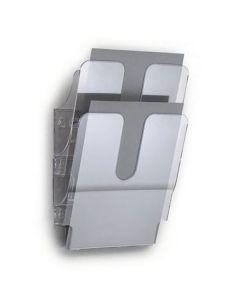Blankettfack FlexiPlus A4S 2-fack transp