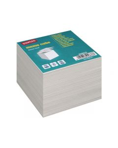 Blockkub refill vit papp 90x90x90 mm 70g