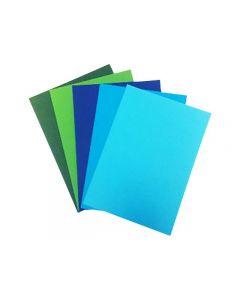 Dekorationskartong 50ark/FP Färgpaket 4