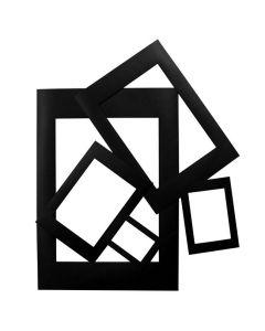 Passepartoutramar svart 100/FP