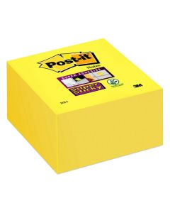 Notes POST-IT SuperSticky kub76x76mm gul
