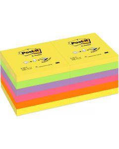 Notes POST-IT Z-block 76x76 rainbow