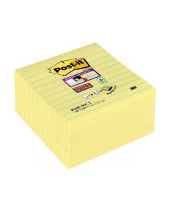 Notes POST-IT Z SS Canary 101x101mm 5/FP