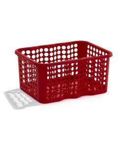 Förvaringskorg 6 liter röd