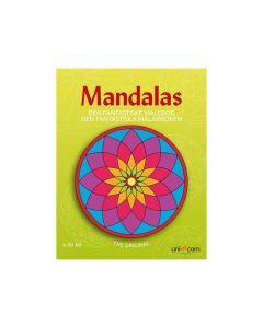 Målarbok Mandala De fantastiska målarbok
