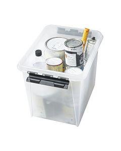 Förvaringsbox 50 liter transparent