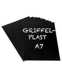 Griffelplast A7 svart 10/FP