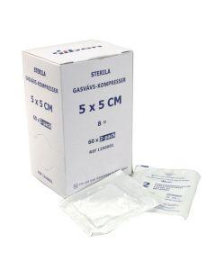 Kompress GV steril 2-p 5x5cm 120/FP