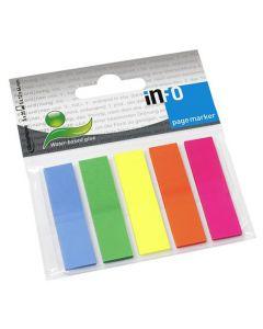 Index INFO NOTES 12x50mm 5 färg