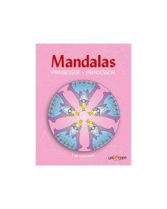 Målarbok Mandalas Prinsessor