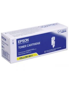Toner EPSON C13S050611 gul