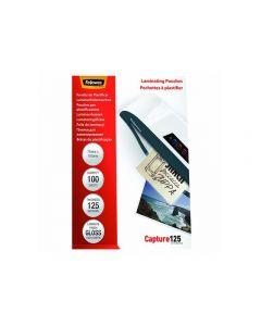 Laminat FELLOWES 75x105mm 125 mic 100/FP