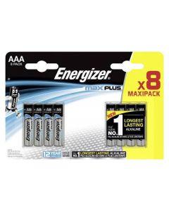 Batteri ENERGIZER Max Plus AAA 8/FP
