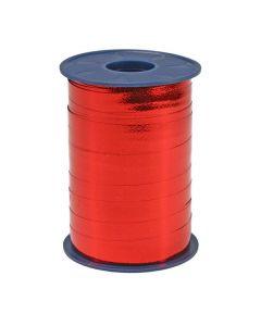 Presentband 10mmx250m röd metallic
