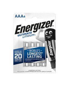 Batteri ENERGIZER Ultimate AAA 4/FP