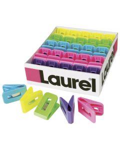 Pappersklämma LAUREL  plast 25x43mm