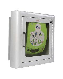 Väggskåp för AED Plus, Vitt