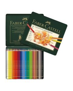 Färgpenna FABER CASTELL Polychroms 24/FP