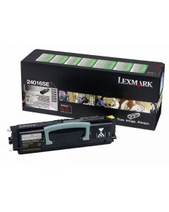 Toner LEXMARK 24016SE svart