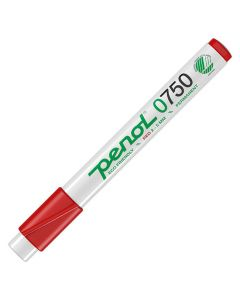 Märkpenna PENOL 0-750 perm 2-5mm röd