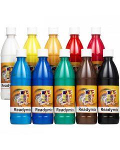 Readymix klassuppsättning 10 flaskor 500ml