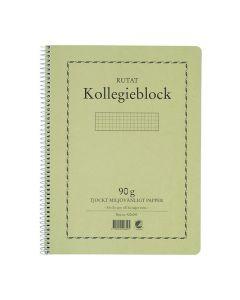 Kollegieblock A4 90g 70 blad rutat TF