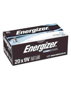 Batteri ENERGIZER Max Plus E 9V 20/FP