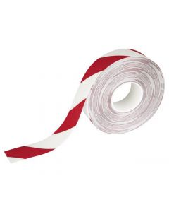 Golvmarkering DURALINE® 30m röd/vit