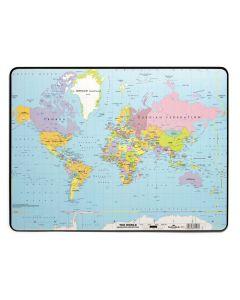Skrivunderlägg 53x40cm Världen