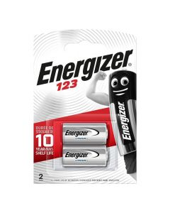 Batteri ENERGIZER Lithium Foto 123 2/FP