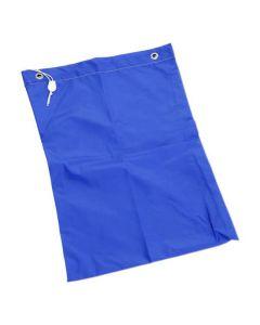 Tvättsäck med dragsko blå 50x75cm