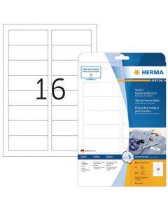 Etikett HERMA Namn vit 88,9x33,8mm 320/FP