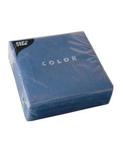Servett 1-lags 33x33cm mörkblå 100/FP