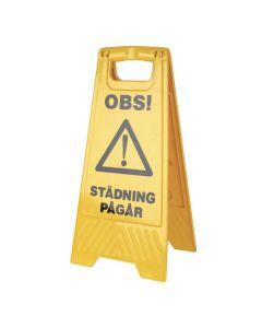 Varningsskylt Städning Pågår, Våta golv