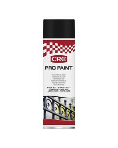 Sprayfärg CRC Matt Svart 500ml