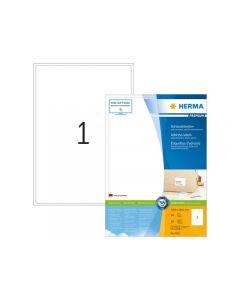 Etikett HERMA Adress 199,6x289,1mm 100/FP