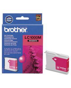 Bläckpatron BROTHER LC1000M magenta