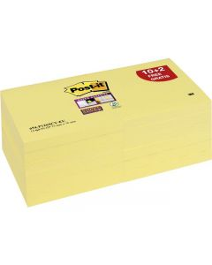 Notes POST-IT SuperSticky 76x76mm gul