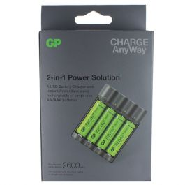 Batteriladdare GP Charge Anyway