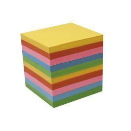 Blockkub refill färg. papper 90x90 800bl