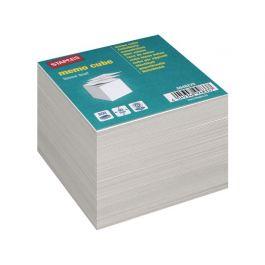 Blockkub refill vit papp 90x90x90mm 70g