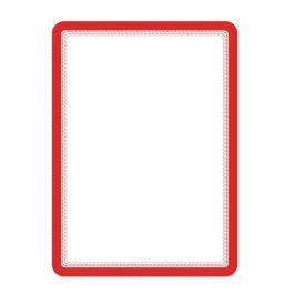 Magnetram självh. TARIFOLD A4 röd 2/FP